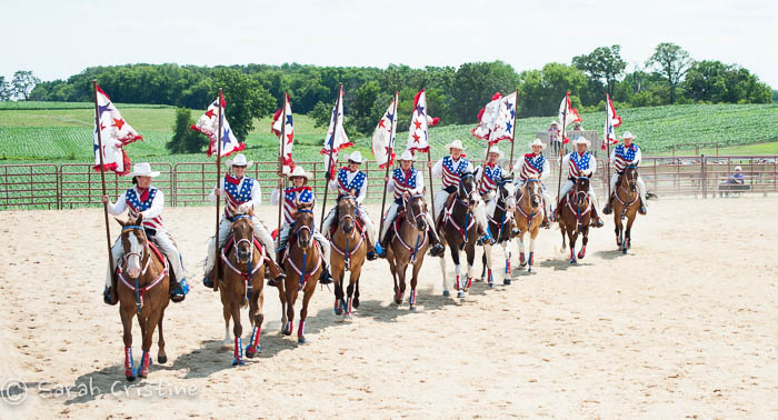 Timmerann's Drill Team, Western Riding Lessons